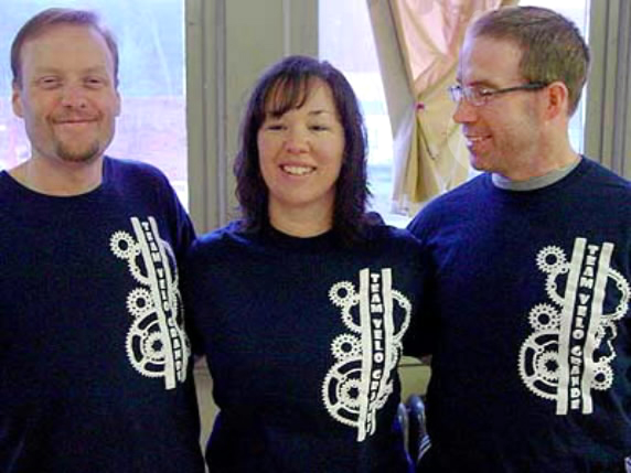 "Derek Morin, Alison Morin and Tim Bryce founded Team Velo Grande, a bicycling group Derek Morin described as a ""?safe, non-intimidating"" way for locals of all sizes and skill levels to stay active."