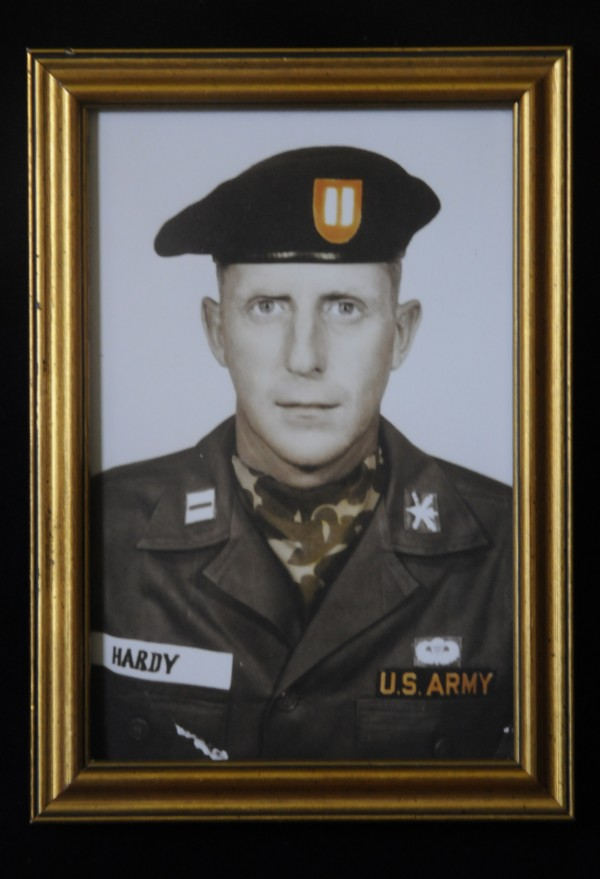 A 1960s photo of the late Capt. Herbert F. Hardy, Jr. in his uniform.  On March 4, 1964 Capt. Hardy was killed in action on the Cambodian border while serving in Vietnam. Capt. Hardy is one of many Maine soldiers that will be honored on Memorial Day.