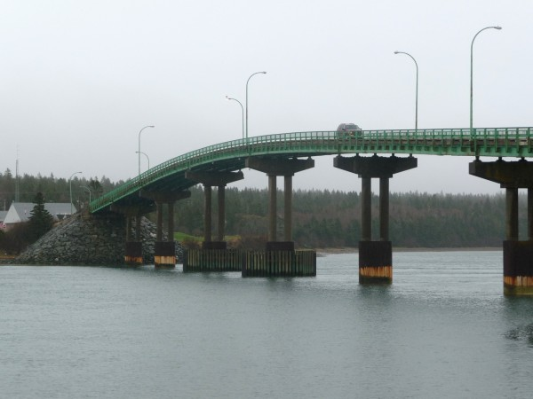 Bridge officials in Maine and Canada are reporting slight movements of the pier foundation of the Franklin D. Roosevelt Memorial Bridge, which stretches from Lubec, Maine, to Campobello Island, New Brunswick. They are watching the bridge but said travelers should not be concerned since the movements are attributed to temperature fluctuations and the bridge's original construction. The international bridge is owned half and half by Maine and Canada and was opened for traffic in 1962. The bridge spans ?The Narrows,? an area of swift and treacherous tidal currents, and aside from seasonal ferries, is the only year-round access islanders have to the mainland.