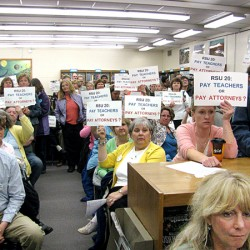 Belfast-area school district, teachers heading to arbitration after 2 1/2 years without a contract