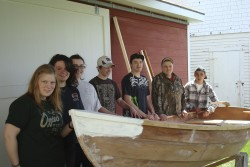 Teens learn about science from building boats
