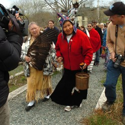 Walk raising consciousness about blood of Mother Earth