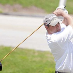 Jones leads Gay by 2 after first round of Bunyan golf tourney