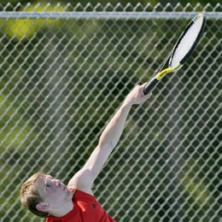 Veteran Bangor boys tennis team meeting expectations