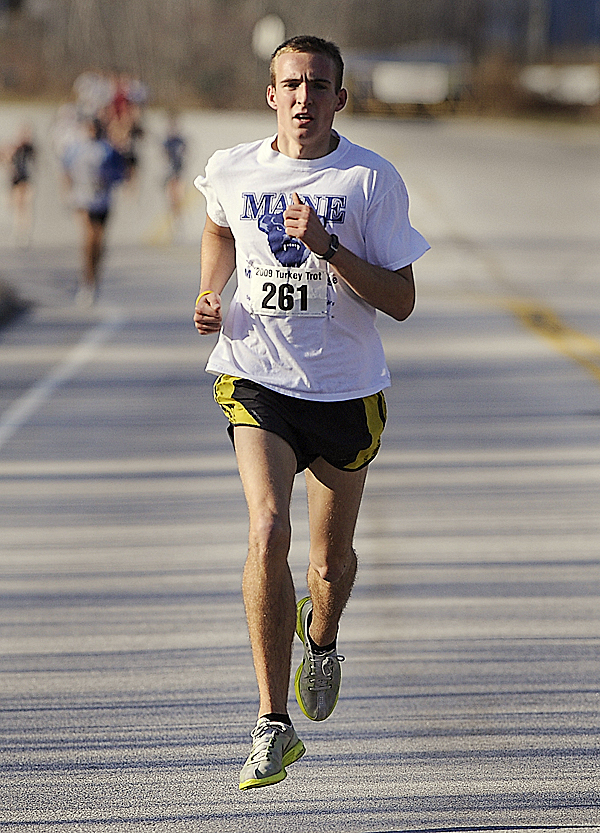 Bangor native Riley Masters will compete in the Elite Men's Mile at the first Maine Distance Gala at Bowdoin College in Brunswick Friday when he will attempt to run a sub 4-minute mile.