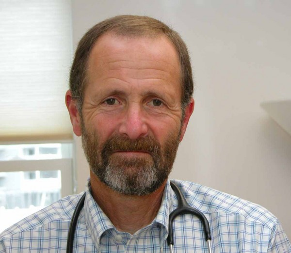 Dr. Robert Pinsky, who works at Maine Coast Memorial Hospital in Ellsworth and Eastern Maine Medical Center in Bangor, is a specialist in infectious disease who has treated HIV-AIDS patients in eastern Maine since 1989.