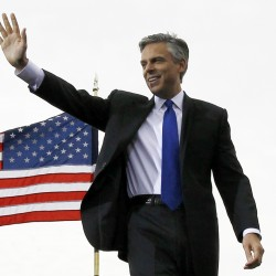 Huntsman joining GOP race — at Statue of Liberty