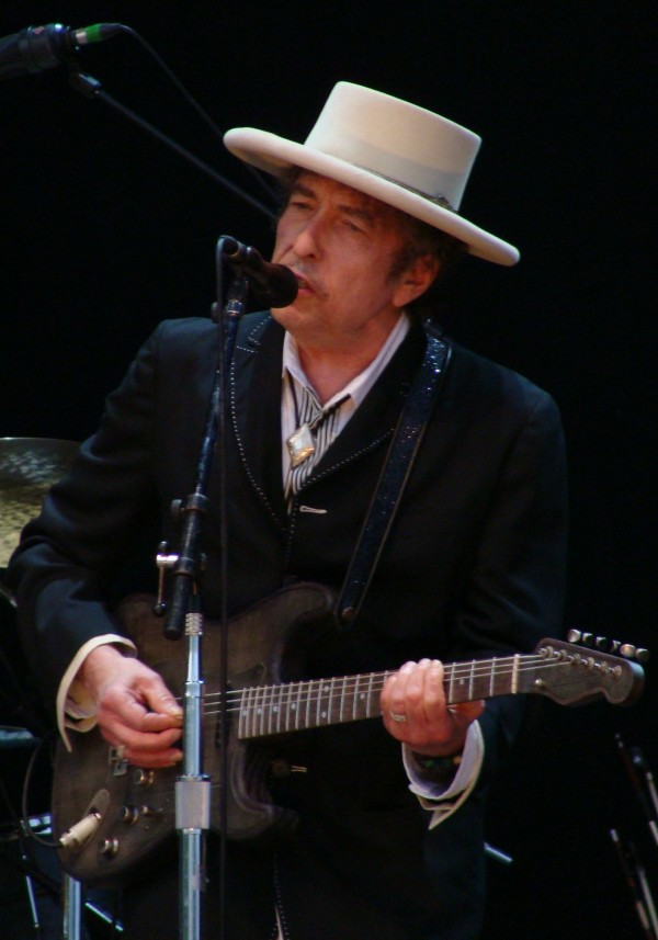 Bob Dylan, performing in June 2010, is set to perform at the Bangor Waterfront on Saturday, Aug. 20.