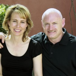 Former Rep. Gabrielle Giffords launches gun control drive with her husband