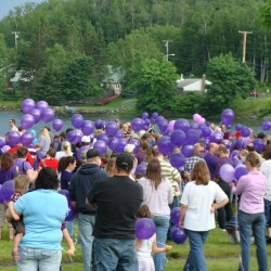 Hundreds turn out to stand up against domestic violence in Piscataquis County