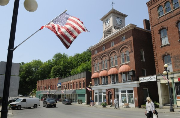Downtown Dexter, June 16, 2011. The community is trying to cope with their most recent tragedy earlier this week.