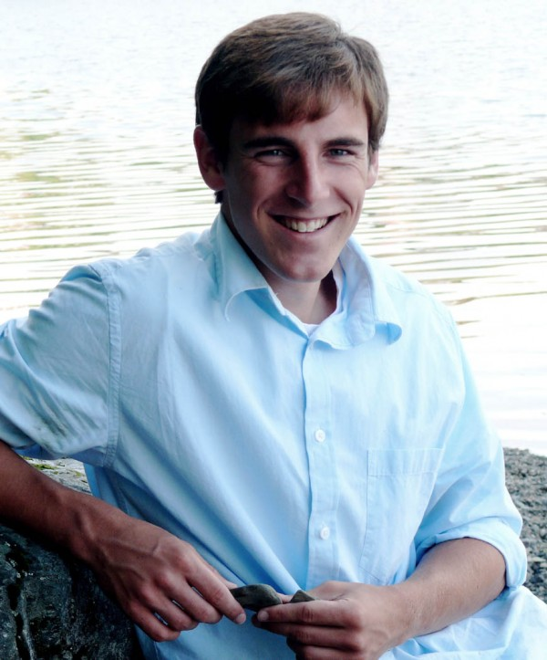 Evan Nadeau, Brewer High School salutatorian, 2011.