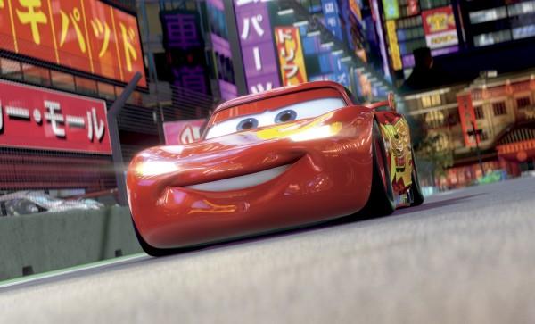 Lightning Mater On The Road Again In Cars 2 Living Bangor