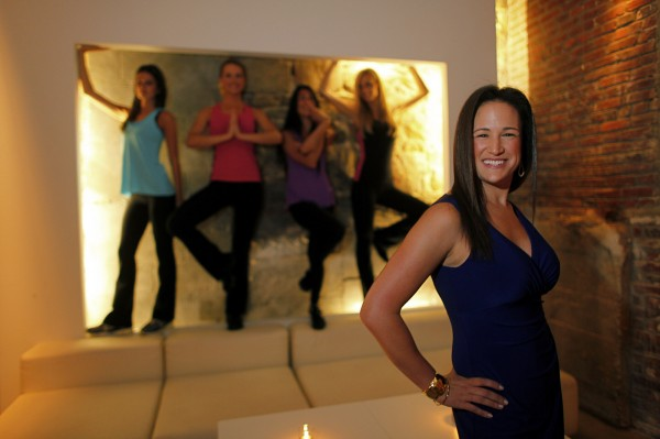 """Activewear was getting way bigger, but no one was making anything for women over 30,""""  says Danielle Dobin, who created an exercise line called Apifeni, designed to give better coverage and more support."""