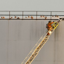 Welding possible cause of fire at Irving Terminal in Searsport