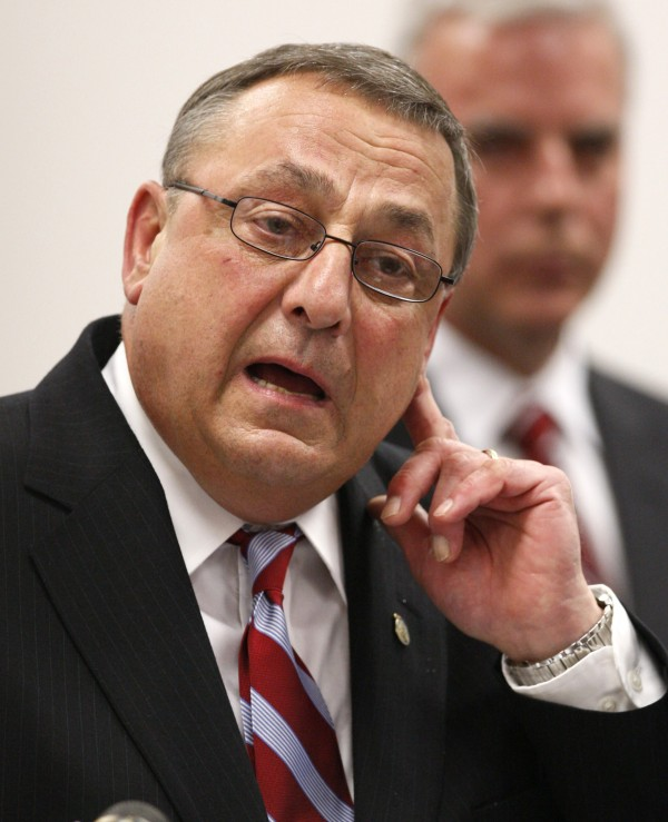 Maine Gov. Paul LePage in early June.