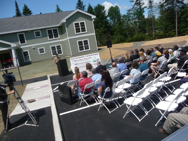 """Mano en Mano's director Ian Yaffe welcomed more than 70 visitors to the grand opening of the Hand in Hand Apartments in Milbridge. """"This project is not enough,"""" Yaffe said. """"But it is a first step."""""""