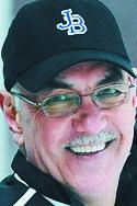 John Bapst coach Gene Fadrigon