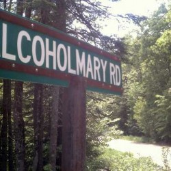 Man offended by road named for bootlegger