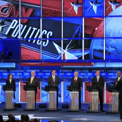 Republican candidates jostle over who is toughest