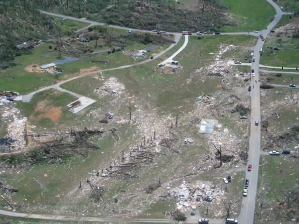 On April 27, 2011, a devastating tornado touched down in Ringgold, Ga., sweeping whole houses off their concrete floors and turning trees into matchsticks. The winds inside the tornado were estimated at 207-260 mph.