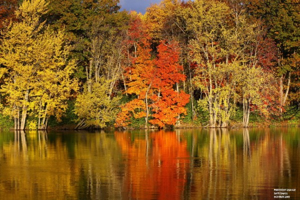 Stillwater River in Fall colors