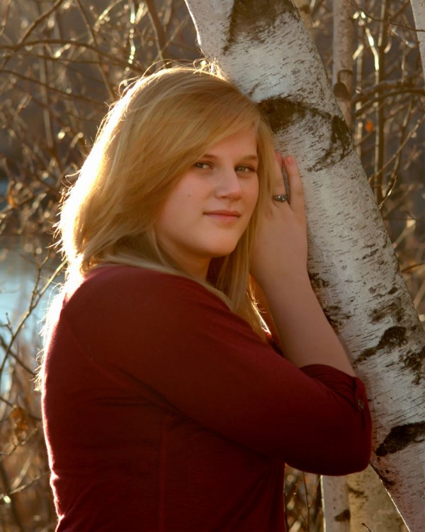 Shelby Hartin - Valedictorian, Southern Aroostook Community School, 2011.
