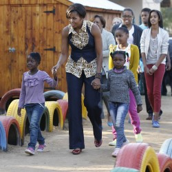 Michelle Obama to youth: History to be made in Africa
