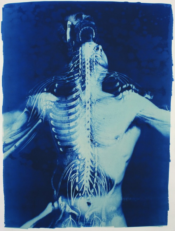 """Departure"" cyanotype by Thomas Hager, 2009."