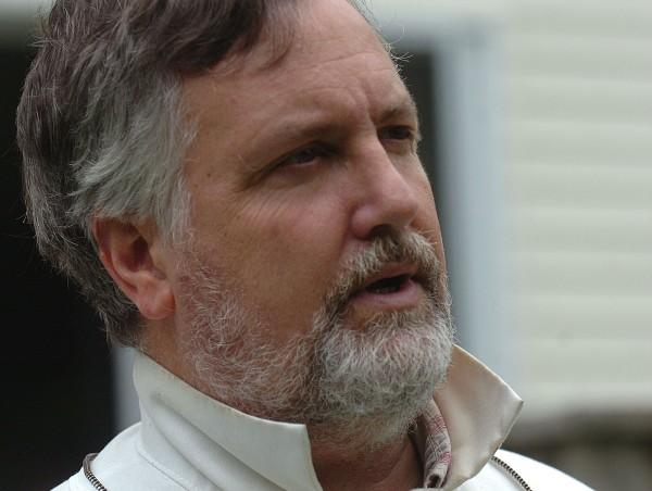 Hampden beekeeper Peter Cowin.