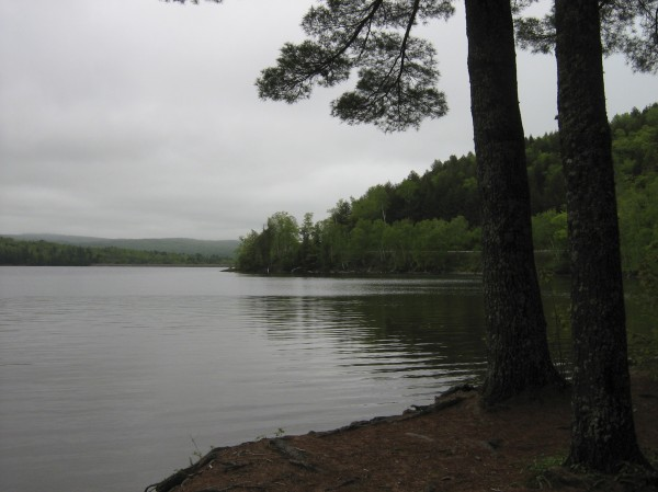 Wyman Lake Recreational Area in Pleasant Ridge in Somerset County offers swimming, fishing and boating in an area of scenic