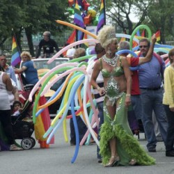 Bangor gay pride festival Saturday