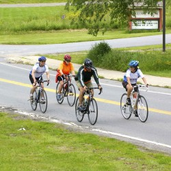 Rockland: Bicyclists start ride on time for coalition's annual fundraiser