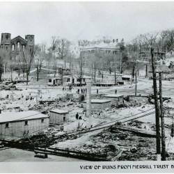 Gas blast rocked Bangor a century ago