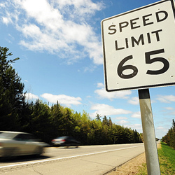 Bill would boost speed limit to 75 mph on northern highway
