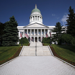 Maine general fund, highway budgets enacted
