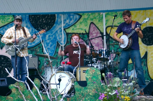 Tough Cats, seen here, performing at the Aroostakoostik Music Festival in 2010. This year's festival is set for Saturday, July 9 at Thomas Park in New Sweden.