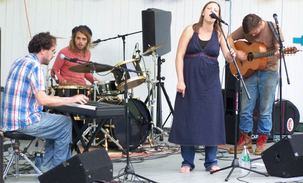 Tree by Leaf, seen here, performing at the Aroostakoostik Music Festival in 2010. This year's festival is set for Saturday, July 9 at Thomas Park in New Sweden.