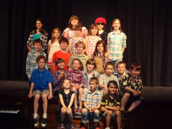 These Waldo area children have been rehearsing for two plays they will present June 24-26 at the Waldo Theatre in Waldo.