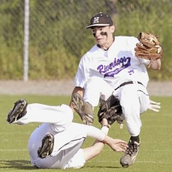 Stanevicz, Bangor earn victory at state Legion tourney; Brewer drops opener