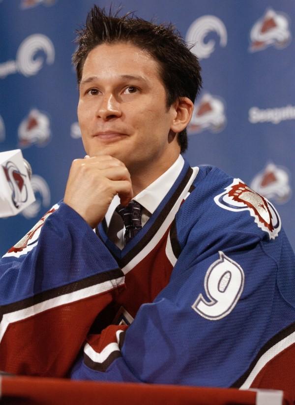Paul Kariya in July 2003.