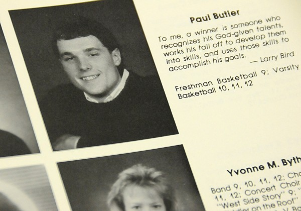 A Bangor High School 1989 yearbook photo of Paul Butler when he was a senior at the high school. Butler was recently tapped as Bangor High School's principal, replacing long-time principal Norris Nickerson who recently retired.
