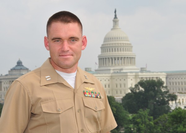 Capt. David J. Cote from Bangor was named Marine of the Year at the 11th annual Military Times Service Members of the Year awards ceremony. The event took place July 2 at the Cannon House Office Building in Washington, DC. One member from each branch of the United States Armed Forces was honored.