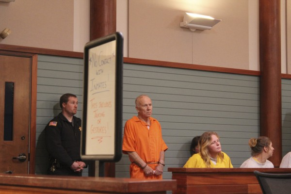 Charles Black in Rockland District Court Tuesday, April 19, 2011.