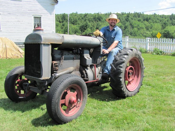 The Curran Homestead's 20th anniversary Summer Festival to be held Saturday and Sunday, July 23-24, will feature a 1926 Fordson Model F farm vehicle.