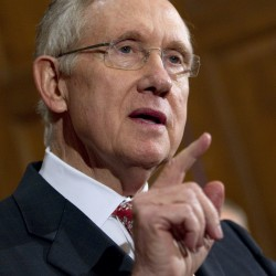Harry Reid says Democrats should retain Senate in wake of Snowe announcement