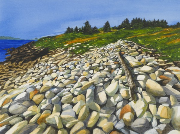 """Destination"" is among the works featured in the exhibit ""Barbara Ernst Prey: Open Spaces — Meditations on the Environment,"" which runs though Aug. 21 at Blue Water Fine Arts gallery in Port Clyde."
