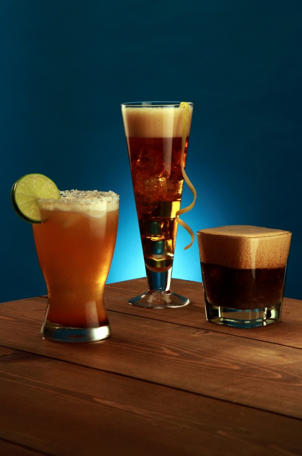 The Michelada from Austin's Hotel San Jose, the Gran Inka from Miami Beach's Bar Lab, and the Kelso Cola from Nashville's Holland House, from left, are just a few beer cocktails that will put a new twist on summer refreshments.