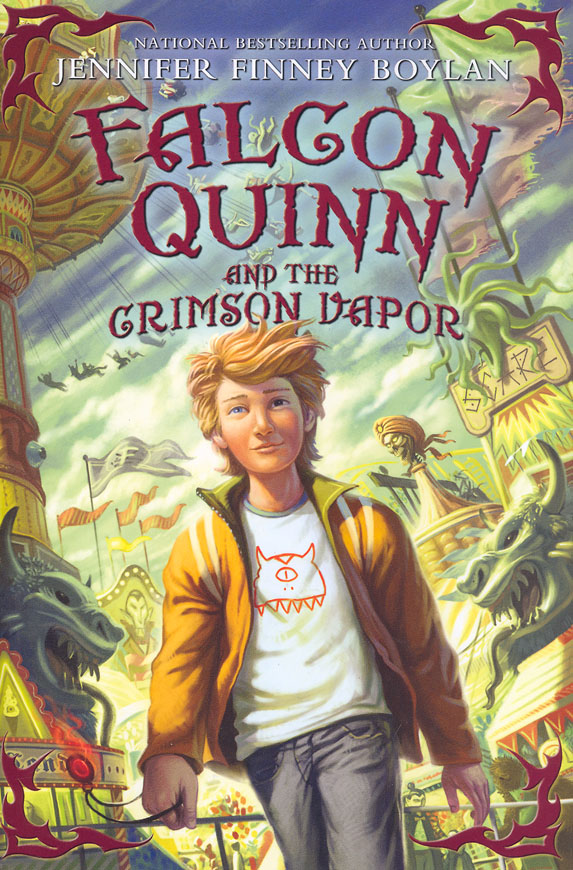 &quotFalcon Quinn and the Crimson Vapor&quot by Jennifer Finney Boylan