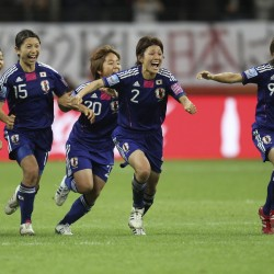 US women tip Japan for soccer gold, redemption